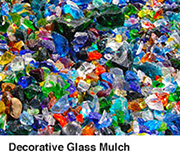 Decorative Glass Mulch