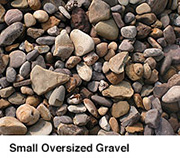 Small Oversized Gravel